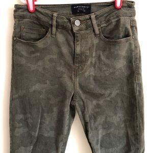 Sanctuary camo jeans